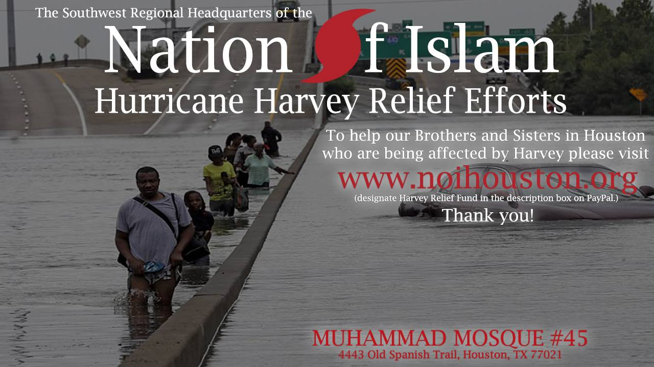 Support the Hurricane Relief Effort