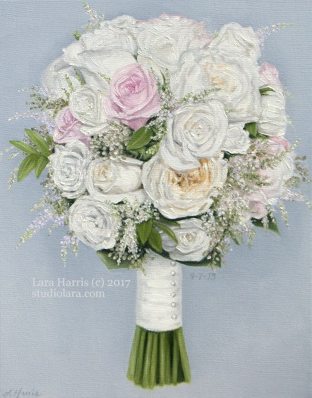 Wedding Bouquet Paintings