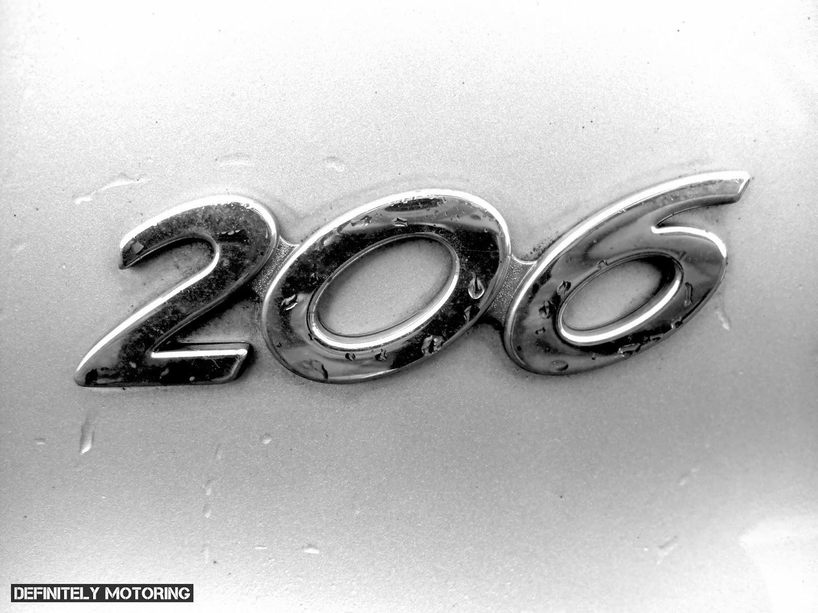 Definitely Motoring: DRIVEN: Peugeot 206