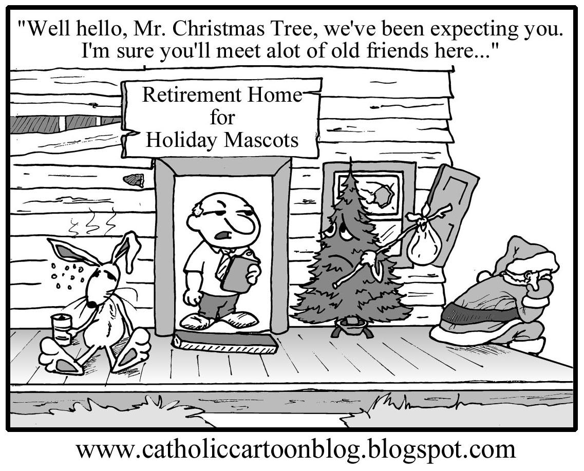 catholic cartoon blog a merry christmas to all