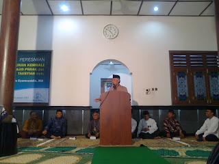 peresmian masjid perak