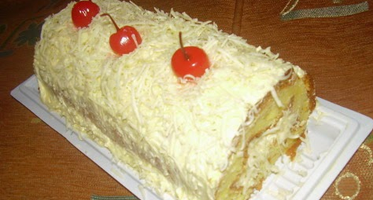 Resep Cara Membuat Kue Bolu Keju