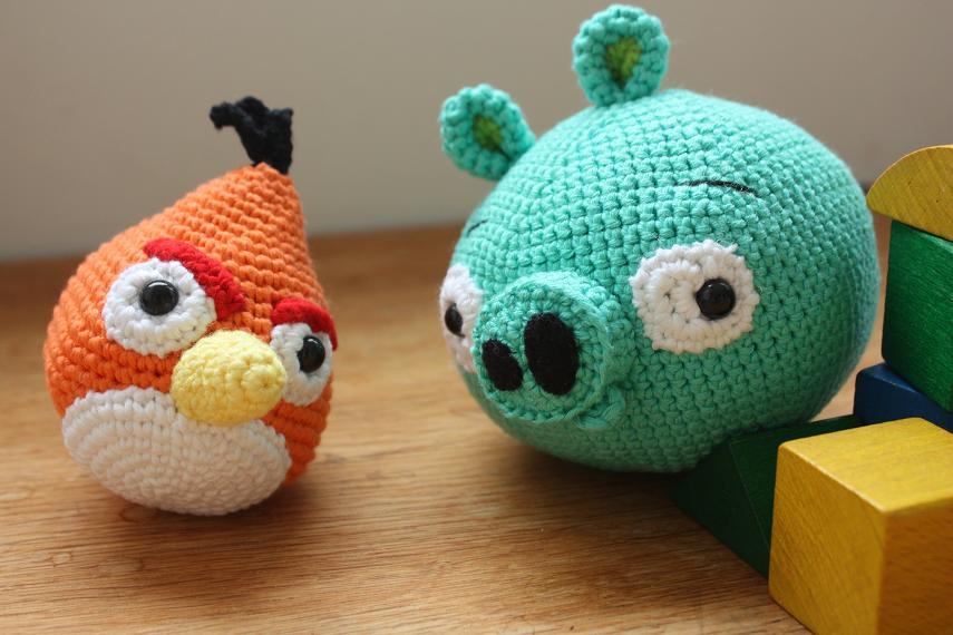 HAPPYAMIGURUMI: Amigurumi crochet Angry Birds
