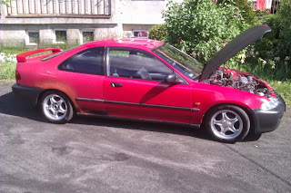 Lakierowanie Honda Civic mk3 coupe