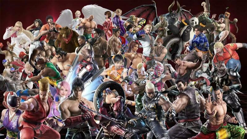 Tekken CGI Character Renders