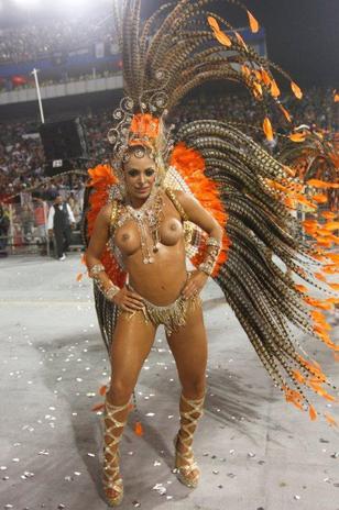Mulheres Peladas No Carnaval