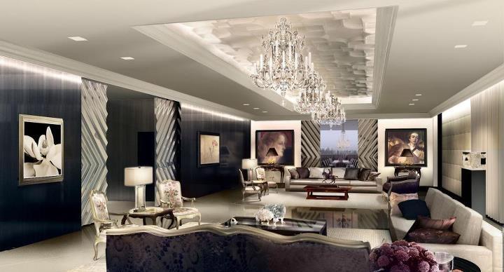 El in genio de las l mparas gu a para elegir la l mpara - Iluminacion salon moderno ...