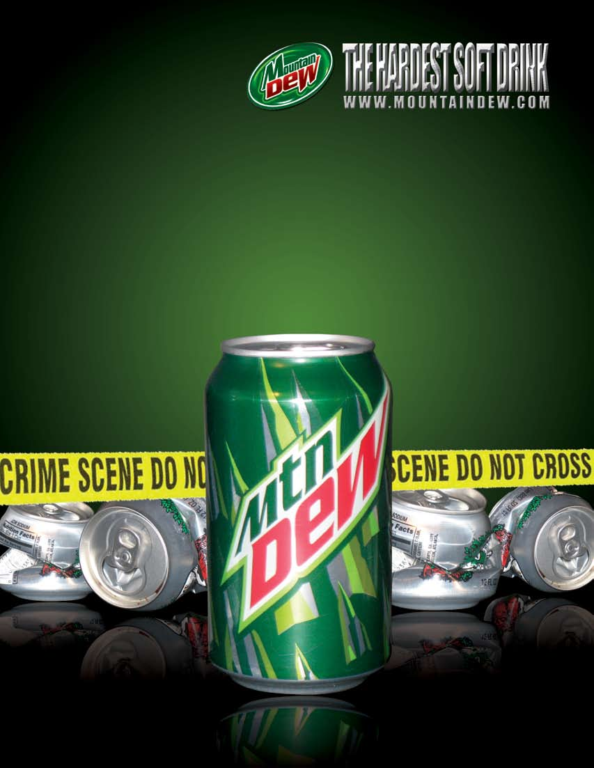 mountain dew advertisement creativity case analysis Mountain dew case study mountain dew the ad agency bbdo has been taking care of the advertising campaign of mountain dew through its creative ad campaigns.
