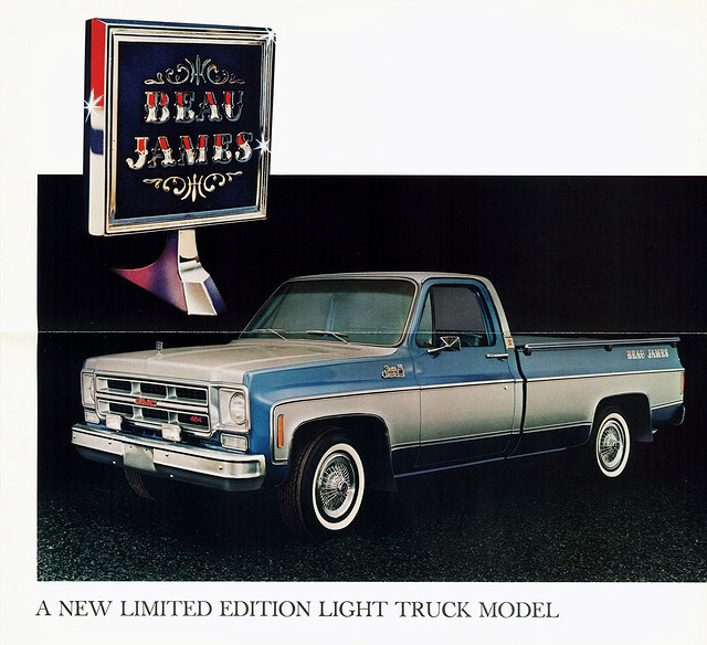 Gj Truck Sales >> Just A Car Guy: the Beau James, 1975 GMC truck. What idiot thought that was a good name to ...
