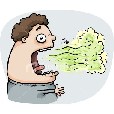 How to test if you have bad breath