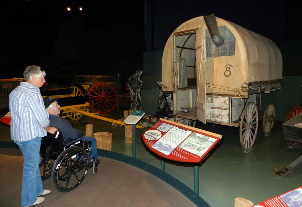 Elfshot remington carriage museum cardston alberta - The mobile shepherds wagon ...