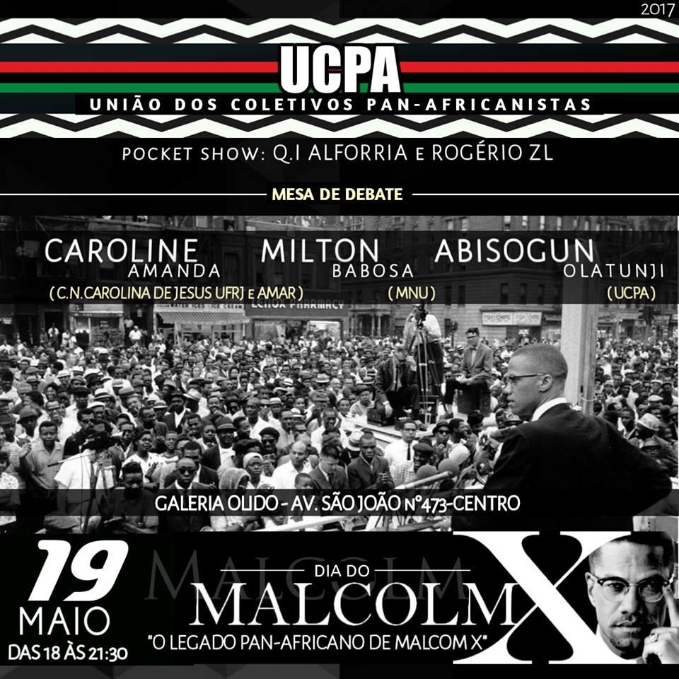 19 de Maio: Dia de Malcolm X