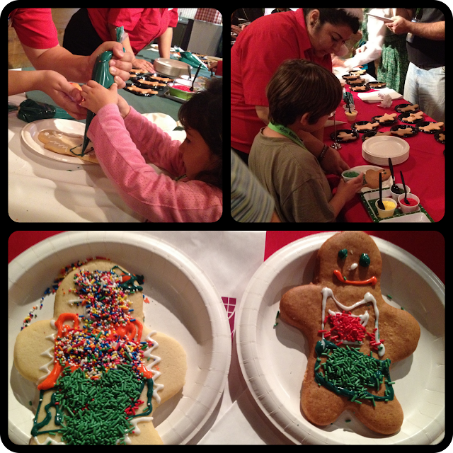 Decorating Cookies at Knotts Merry Farm!!