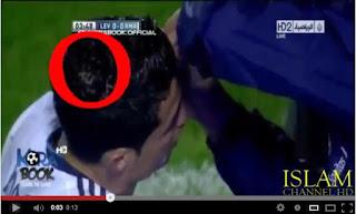 Subhanallah, ada lafadz Allah di kepala C.Ronaldo - Bekal Dunia Dan