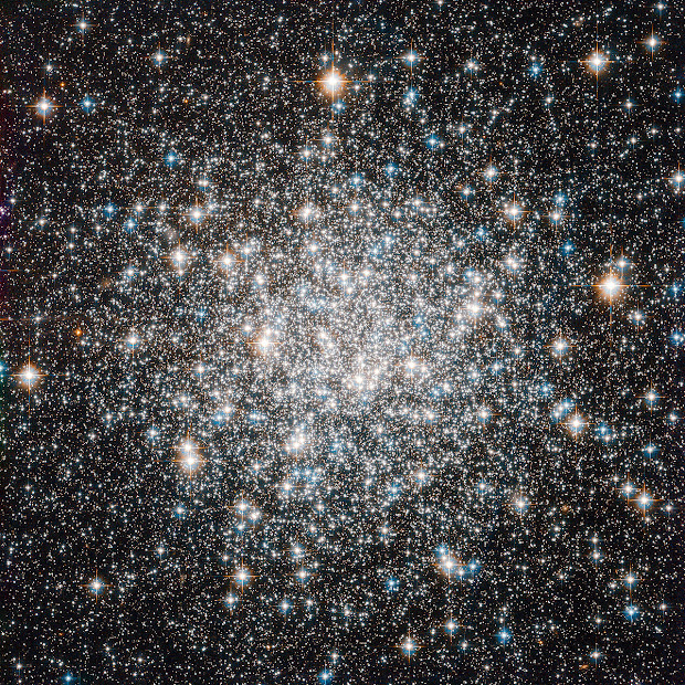 Globular Cluster M68: a 10 billion year Stellar Dance!