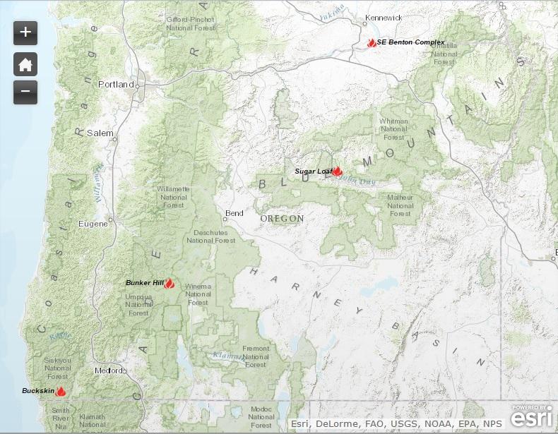 Oregon Smoke Information: June 2015