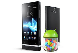 Sony Xperia S dapat update Jelly Bean 4.1.2