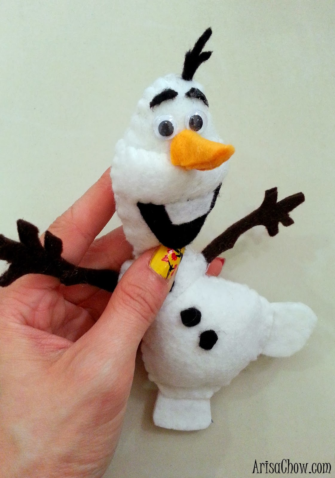 Frozen Olaf Plushie DIY - Welcome