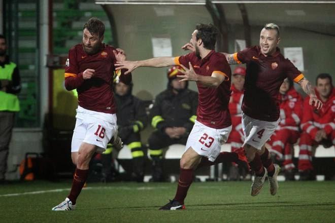 Highlights Cesena 0 -1 Roma