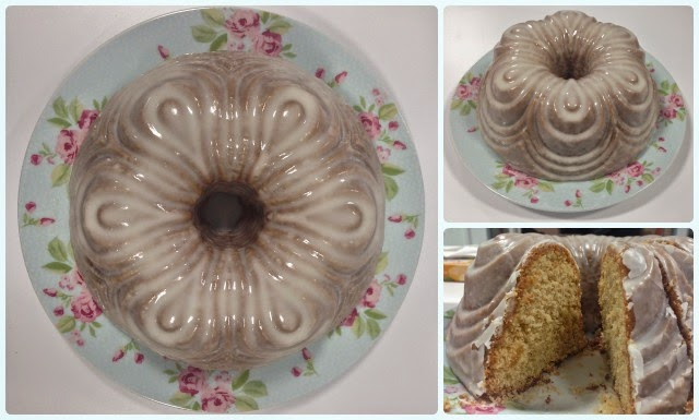 Pear and Ginger Bundt Cake