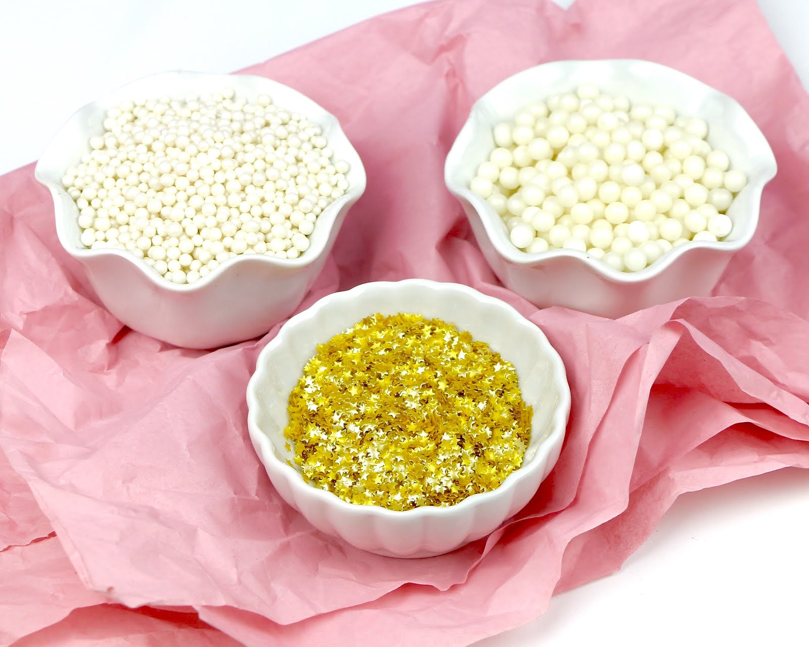 how to make gold sprinkles