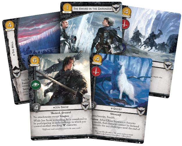 A game of thrones the card game Night's Watch
