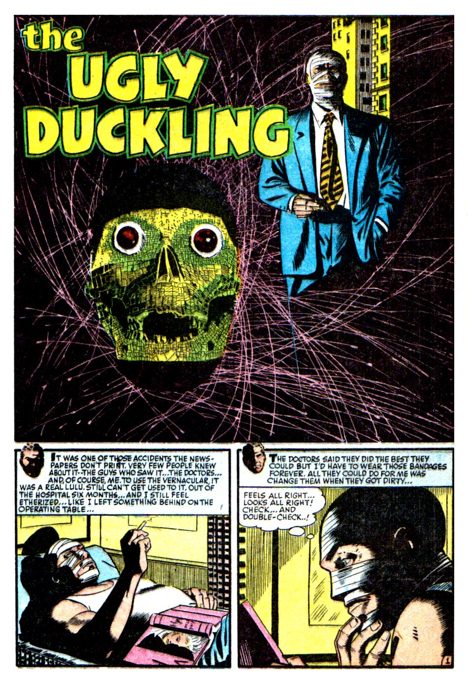 the horrors of it all the ugly duckling
