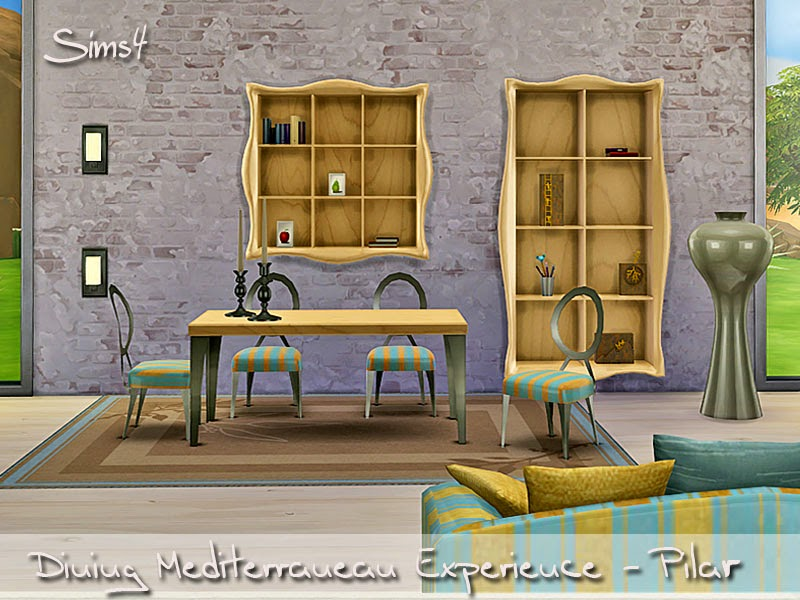 18-10-2014  Sims 4 Dining Mediterranean Experience