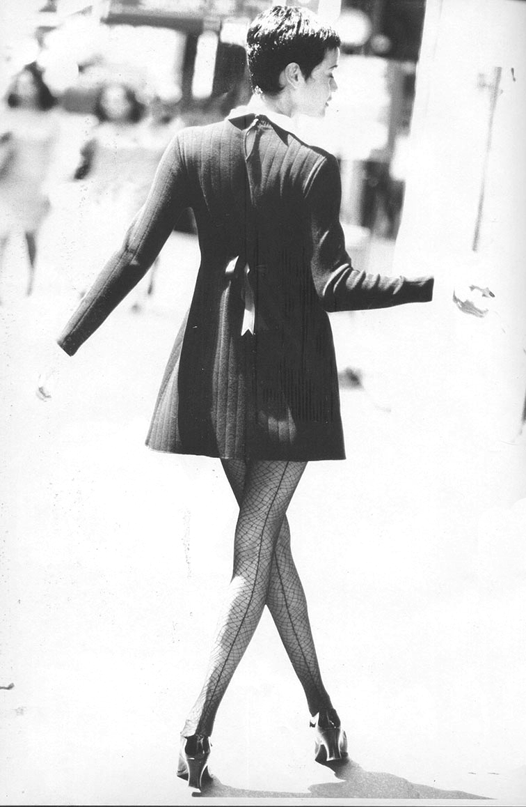 Nadege Du Bospertus in Elle Italia September 1994 (photography: Eddy Kohli; styling: Micaela Sessa)
