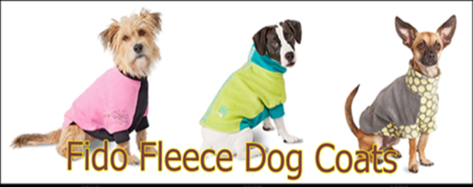 Warm Fleece Dog coats by Premier Pet / PetSafe