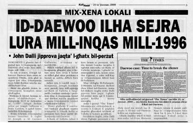 20 - John Dalli and the Daewoo Scandal