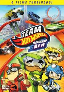 Team Hot Wheels: Mandando Bem - BDRip Dublado