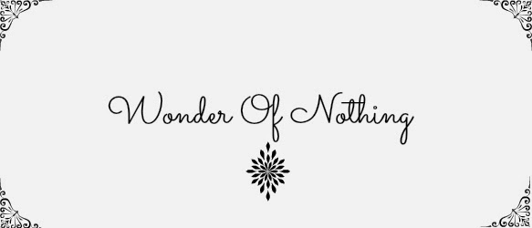 Wonder of nothing