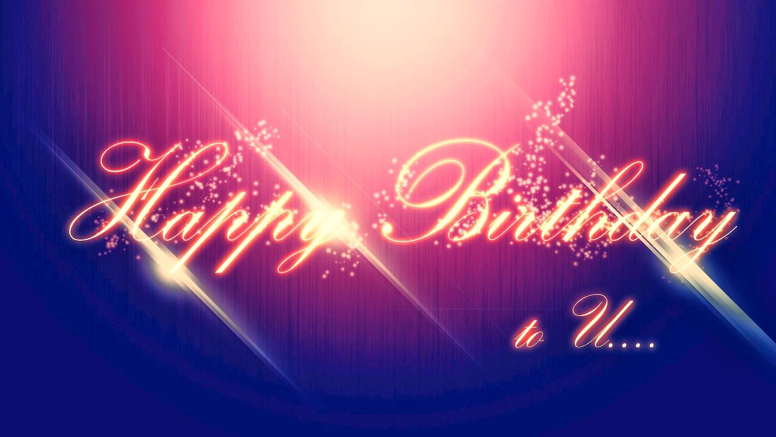 Happy birthday wishes wish spark lights