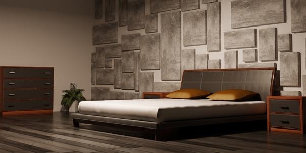 tips dekorasi kamar tidur kecil model denah rumah