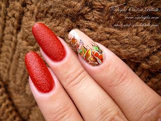 Nail art d'automne - Les feuilles mortes se ramassent à la pelle...