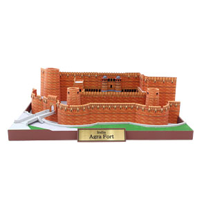Agra Fort Papercraft Replika, India