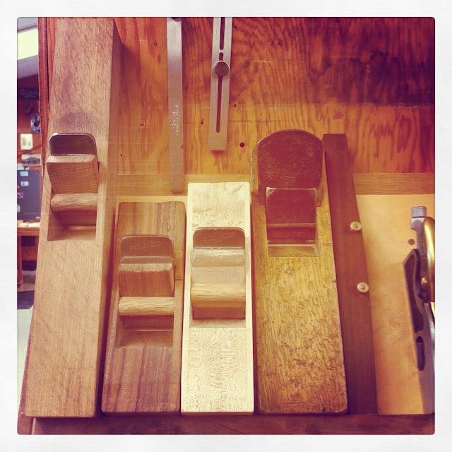 Darrick Rasmussen Furniture, handmade hand planes