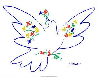 """""""Το περιστέρι της Ειρήνης"""" του Πάμπλο Πικάσσο"""