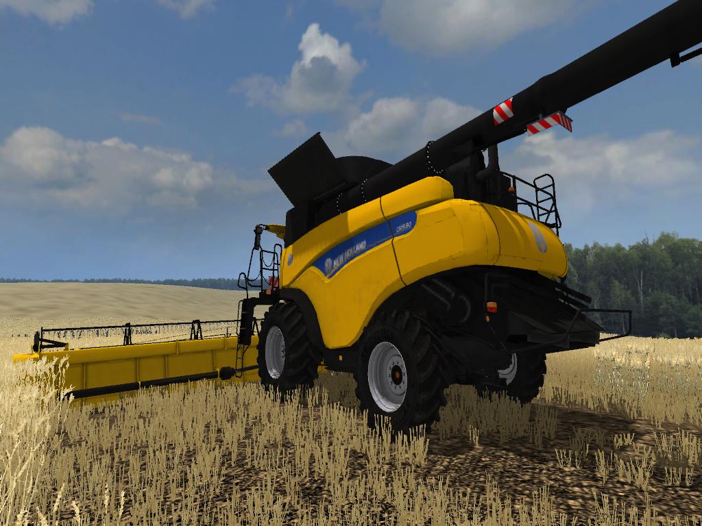 New Holland CR 10.90 Farming Simulator 2015