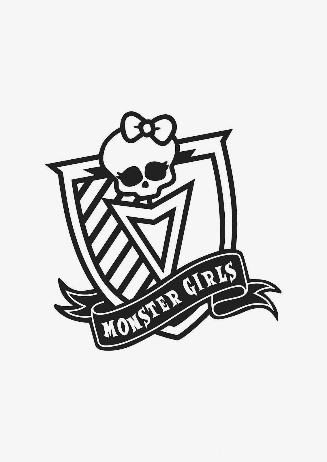 Desenhos monster high colorir imprimir