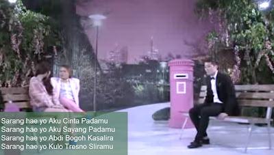 Lirik Lagu Sarangheyo - Sule feat Eru