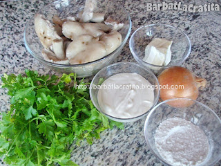 Ciulama de ciuperci ingrediente reteta