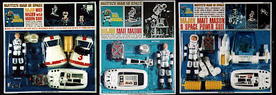 Mattel Major Matt Mason Carded Figures