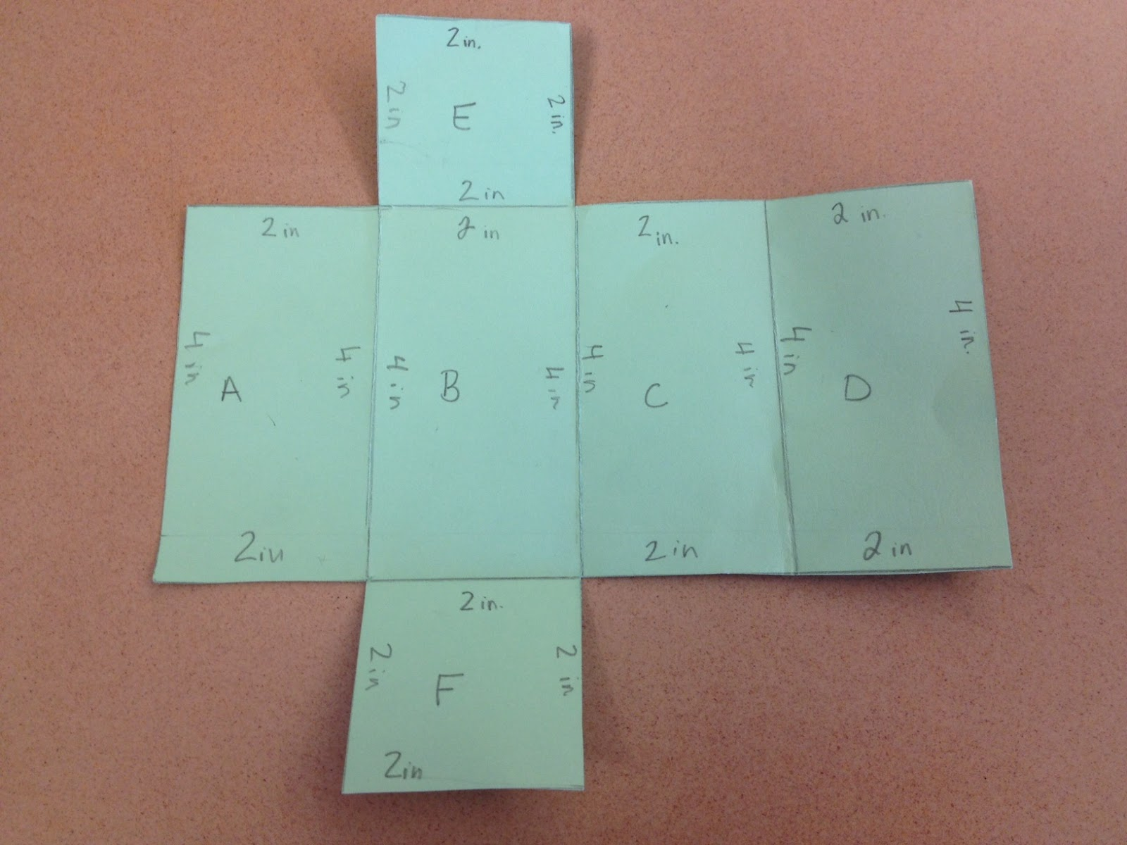 Middle School Math Rules!: Hands-on Surface Area of Prisms