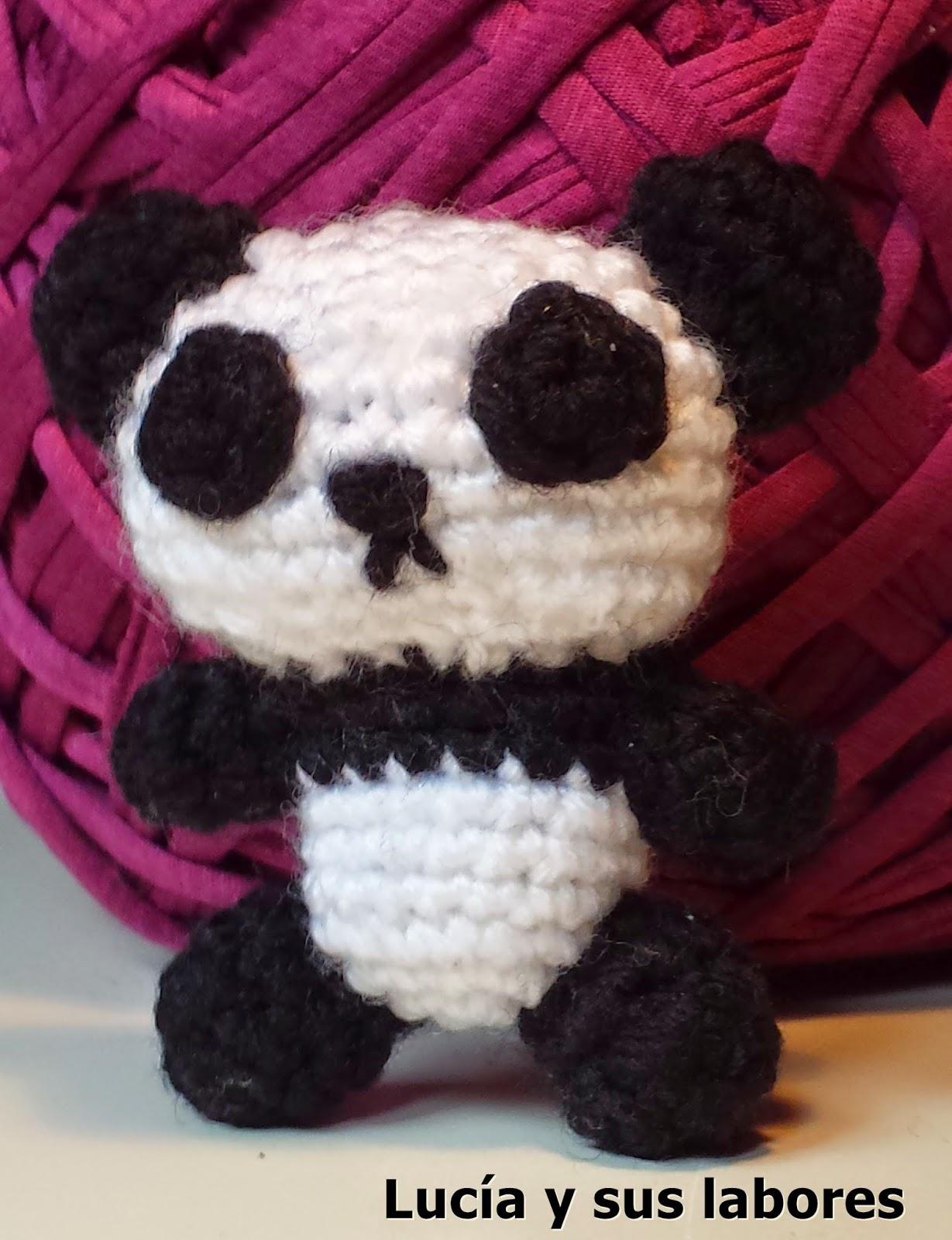 Lucía y sus labores.: Oso Panda Zito