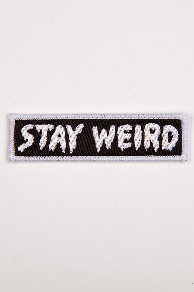 http://glamourkills.co.uk/collections/girls/products/mini-stay-weird-patch
