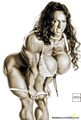 Area Orion female muscle morph