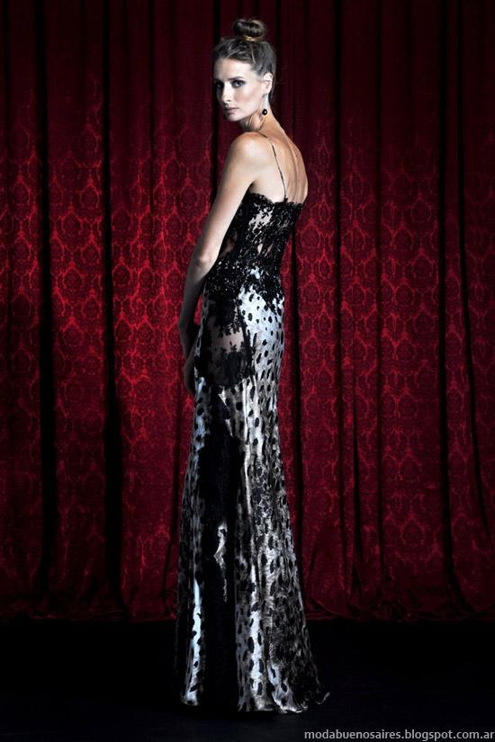 Moda vestidos invierno 2013 Solo Ivanka Argentina