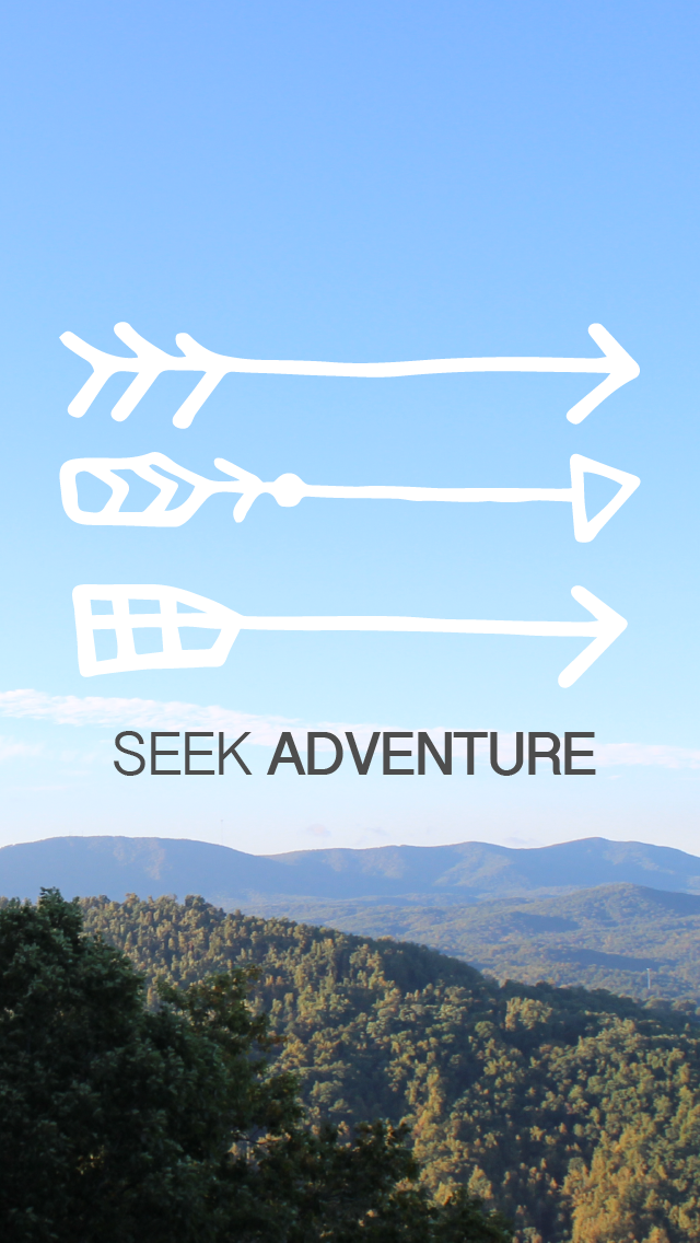 adventure, seek, arrows, Gina Alyse, blogging, phone, phone background, free, downloadable